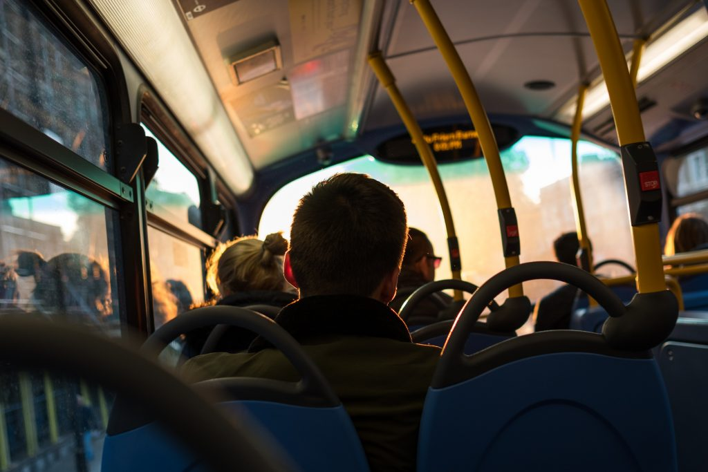 Managing from the back of the bus