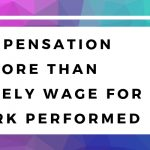 Another Way to Look at Compensation